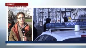 """Le 13 heures du 16 janvier 2015 : Prise d%u2019otages à Colombes : """"Les hommes du Raid sont en route"""" - 2330.374"""
