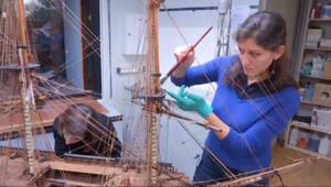 Le 20 heures du 12 décembre 2014 : Dans les coulisses du mus�de la Marine - 1813.73