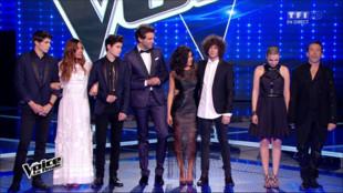 Les finalistes Lilian - Voice 4