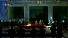 Les funérailles de l'ancien dirigeant nord-coréen ont débuté le 28 décembre à Pyongyang. Le corps de Kim Jong Il était placé dans un cercueil de verre, dans le mausolée Kumsusan.