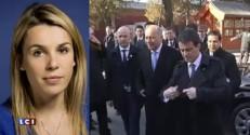 Manuel Valls parle entreprise en Chine, loin des nouveaux sondages