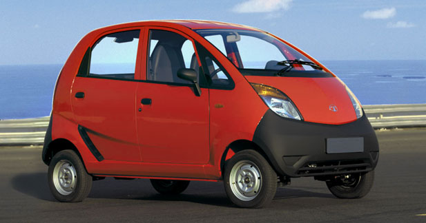 news automoto tata nano voici la voiture la moins. Black Bedroom Furniture Sets. Home Design Ideas