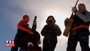 Zaz chante au sommet du Mont-Blanc