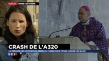Crash de l'A320 : les fidèles ont rendu hommage aux victimes