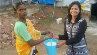 "En Inde, le ""Rice Bucket Challenge"" remplace le ""Ice Bucket Challenge"""