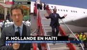 "Hollande en Haïti: l'ambiguïté du mot ""dette"""