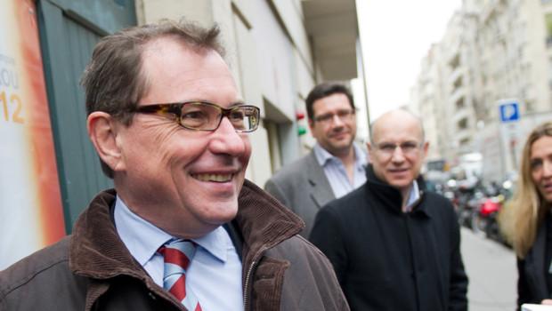 Robert Rochefort (MoDem), le 3 mai 2012.