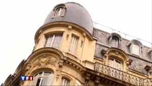 un immeuble, image d'archive