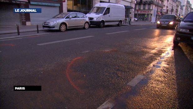 C'est dans cette rue de Paris qu'un chauffard a fauché une mère et sa fille, le 22 juillet.