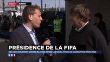 """FIFA : """"pas de suspens"""" pour la réélection de Sepp Blatter"""