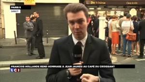 Hollande rend hommage à Jaurès 100 ans après sa mort