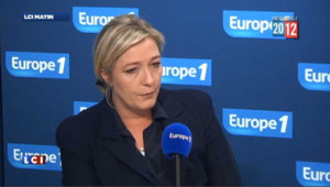 Marine Le Pen condamne l'agression d'Audrey Pulvar