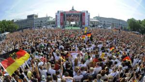 Porte de Brandebourg - Berlin - Mondial 2014 - foot