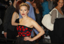 Scarlett Johansson  l&amp;#039;avant-premire du film Avengers en avril 2012  Londres