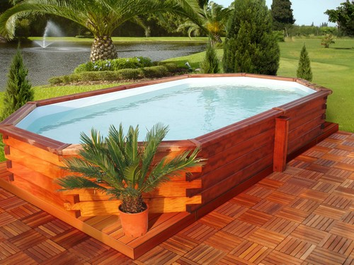 D coration piscine hors sol votre bassin en un week for Piscine hors sol wood grain