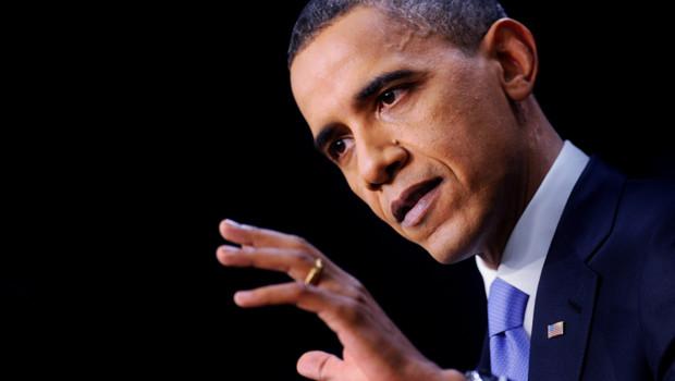 Barack Obama, lors d'une conférence de presse à la Maison-Blanche, le 22/12/2010