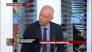 """Caresche : """"Le président de la République ne se séparera pas de Jean-Marc Ayrault de gaieté de cœur"""""""