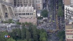 Catalogne : les indépendantistes mobilisés pour soutenir les listes prônant la sécession
