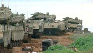 char israélien gaza armée