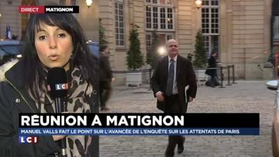 Etat d'urgence : Manuel Valls fait le point à Matignon avec les ministres et parlementaires