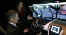 Le 20 heures du 12 avril 2015 : La technologie militaire bientôt au service de l'automobile civile ? - 1421.512