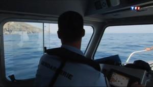 Le 20 heures du 9 juillet 2013 : En patrouille avec la brigade nautique de Saint-Cyprien - 1135.4509999999998