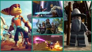 Le retour de Ratchet & Clank, l'arrivée de Star Wars ou encore des pirates et des sorciers devraient venir animer les consoles de jeux vidéo des plus jeunes