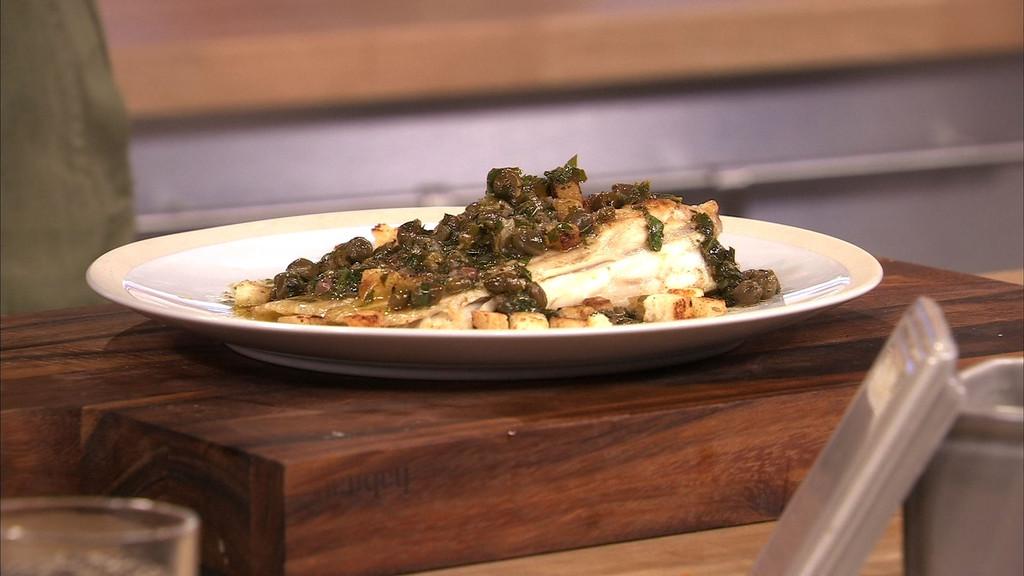 Aile de raie la grenobloise petits plats en equilibre - Recette cuisine tf1 petit plat en equilibre ...