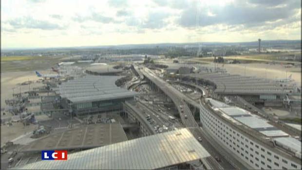 Aéroport de Roissy.
