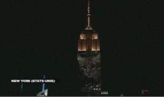 Le bel hommage de l'Empire State Building au lion Cecil et aux autres