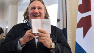 Grard Depardieu et son passeport russe