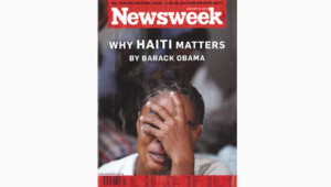 newsweek haïti une tribune obama