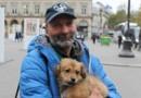 SDF roumain chien Paris Les Halles