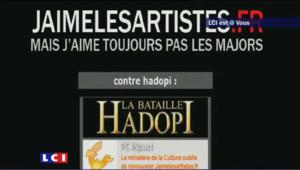 Site du gouvernement Hadopi devenu un site anti-Hadopi