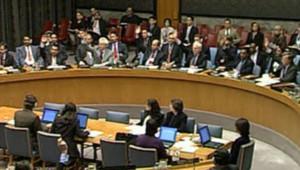 TF1 / LCI Le vote du Conseil de securité à l'encontre de la Corée du Nord, le 14 octobre 2006