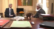 Bureau politique : rencontre avec le président de l'Assemblée, Claude Bartolone