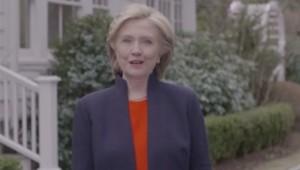 Hillary Clinton vidéo candidature