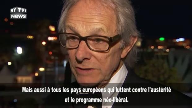 """Ken Loach double palme d'or à Cannes : """"Nous devons être auprès de ceux qui luttent contre l'austérité"""""""