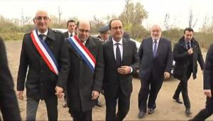 Le 13 heures du 24 novembre 2014 : Florange : visite �aute tension pour Fran�s Hollande - 208.526