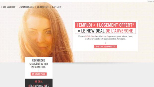 """Le """"New Deal"""" de l'Auvergne"""