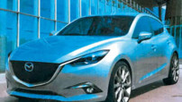 Mazda3 2013 illustration