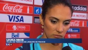 """Mondial féminin : les Bleues """"très déçues"""" après leur élimination face à l'Allemagne"""