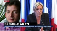 """Brouille au FN : """"Au début, ce n'était pas du tout gagné pour Marine Le Pen"""""""