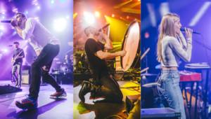 Coldplay, Imagine Dragons et London Grammar lors de l'iTunes Festival d'Austin