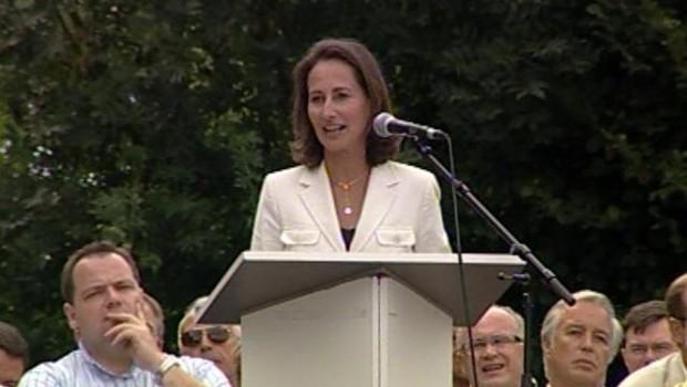 TF1/LCI : Ségolène Royal lors de son discours-programme à Frangy-en-Bresse