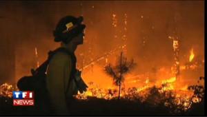 VIDEO : Incendies historiques au Nouveau Mexique