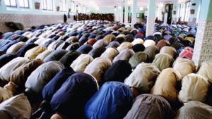 Des musulmans en prière (ici à la mosquée de Marseille)