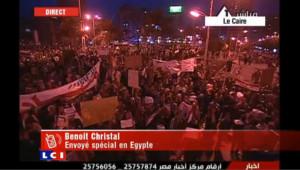 Egypte : l'envoyé spécial de TF1/LCI au coeur des affrontements