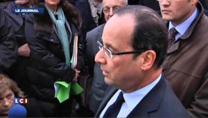 Hollande à la rencontre des salariés de Petroplus