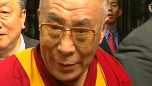 Le dalaï lama, le 16 octobre 2007
